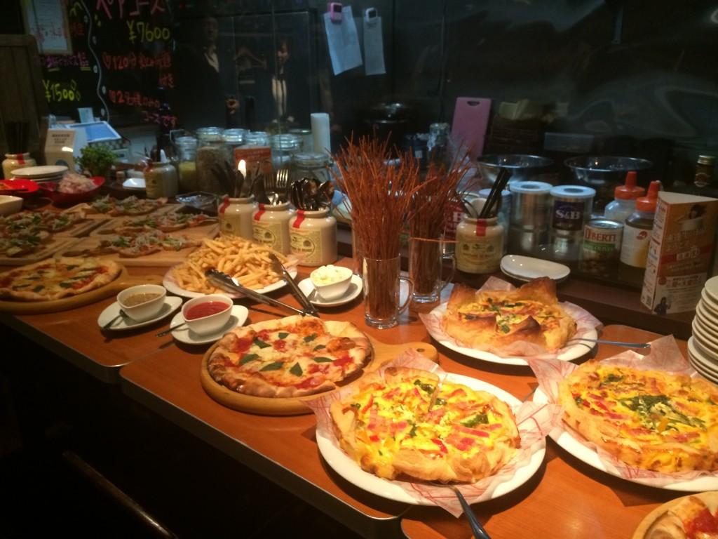 第7回ミッドナイト交流会 開催 料理