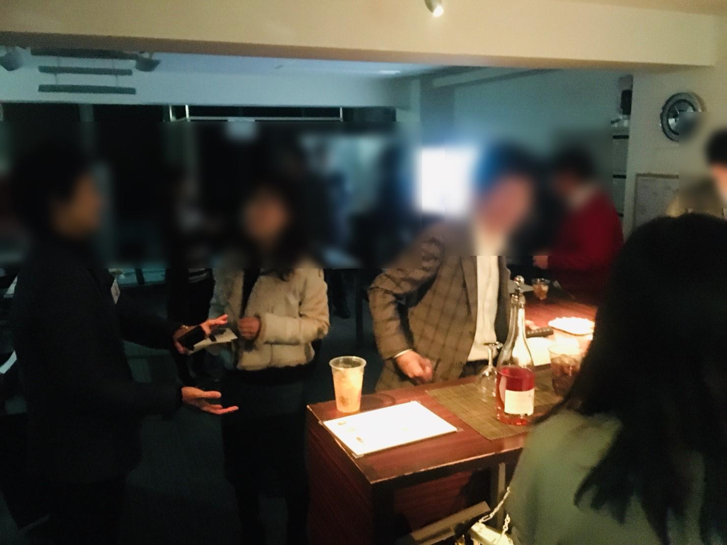名古屋経営者交流会at12月(2019) 開催写真3