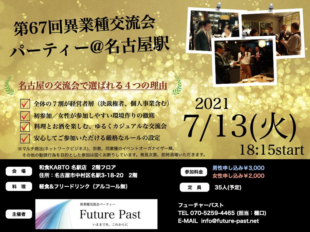 異業種交流会 名古屋 7月