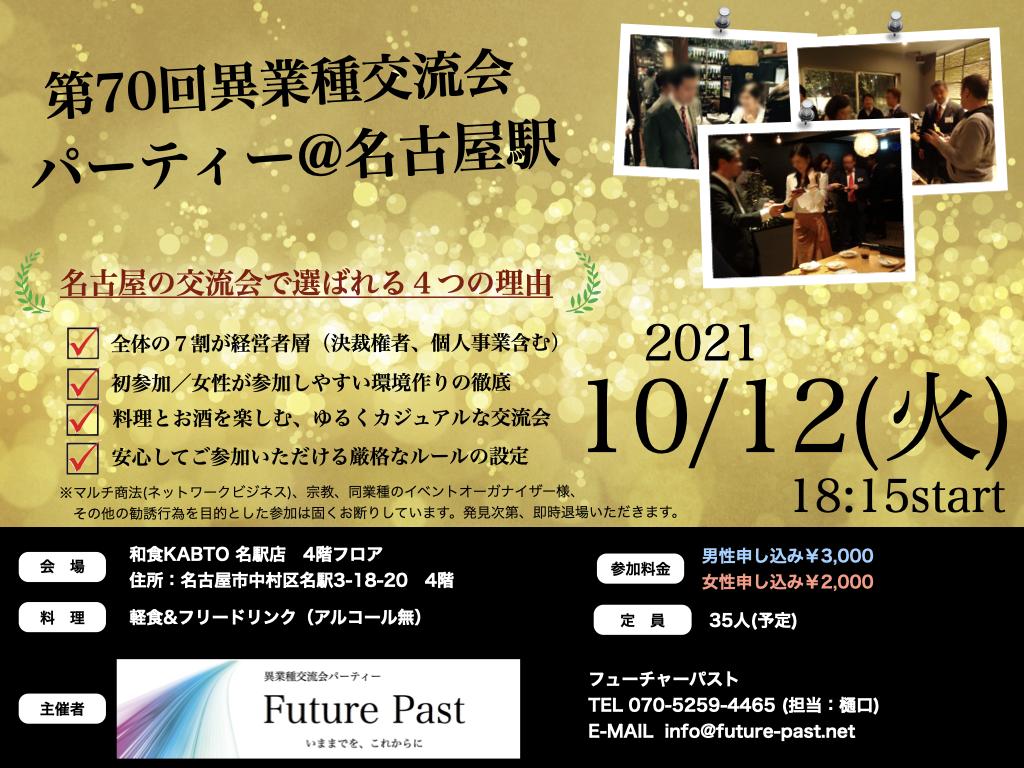 異業種交流会 名古屋 10月